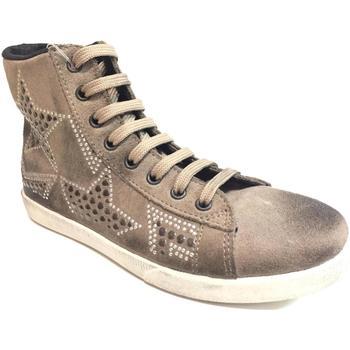 Scarpe Donna Sneakers alte Kioss ATRMPN-22656 Marrone