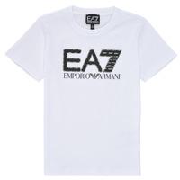 Abbigliamento Bambino T-shirt maniche corte Emporio Armani EA7 3KBT53-BJ02Z-1100 Bianco