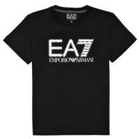 Abbigliamento Bambino T-shirt maniche corte Emporio Armani EA7 3KBT53-BJ02Z-1200 Nero