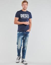 Abbigliamento Uomo Jeans dritti Diesel D-FINNING Blu / Medium