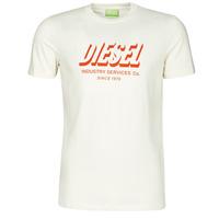 Abbigliamento Uomo T-shirt maniche corte Diesel A01849-0GRAM-129 Bianco
