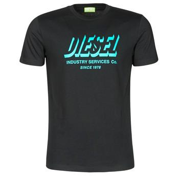Abbigliamento Uomo T-shirt maniche corte Diesel A01849-0GRAM-9XX Nero