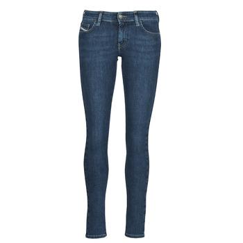 Abbigliamento Donna Jeans skynny Diesel SLANDY-LOW Blu / Medium