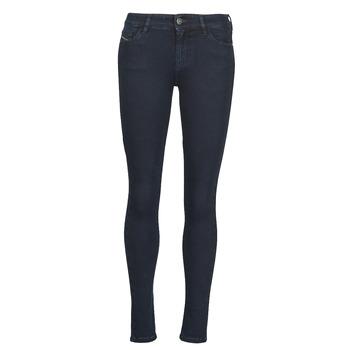 Abbigliamento Donna Jeans skynny Diesel SLANDY Blu / Scuro