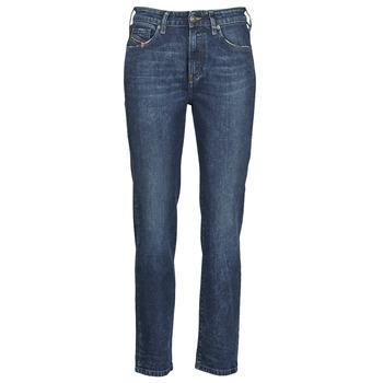 Abbigliamento Donna Jeans dritti Diesel D-JOY Blu / Medium