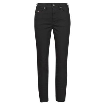 Abbigliamento Donna Jeans dritti Diesel D-JOY Nero
