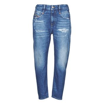 Abbigliamento Donna Jeans boyfriend Diesel D-FAYZA Blu / Medium