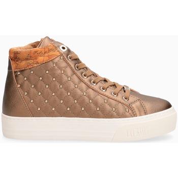 Scarpe Donna Sneakers alte Prima Classe Sneakers donna BRONZO