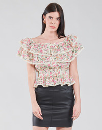 Abbigliamento Donna Top / Blusa Guess SS NEW ISOTTA TOP Rosa