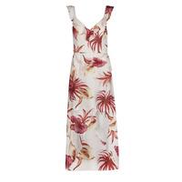 Abbigliamento Donna Abiti lunghi Guess CORA DRESS Multicolore / Bianco