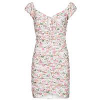 Abbigliamento Donna Abiti corti Guess INGRID DRESS Rosa / Clair