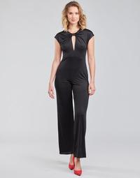 Abbigliamento Donna Tuta jumpsuit / Salopette Guess ROSANNA JUMPSUIT Nero