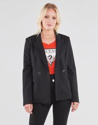 Abbigliamento Donna Giacche / Blazer Guess MICAELA BLAZER Nero