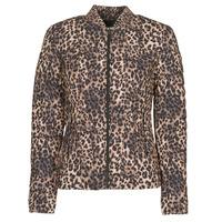 Abbigliamento Donna Piumini Guess VERA JACKET Leopard