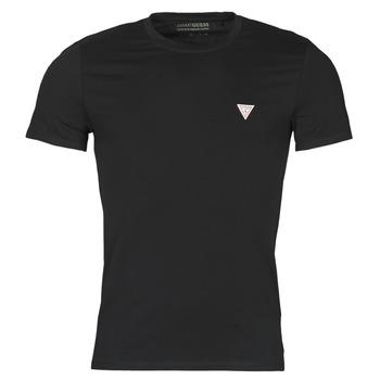 Abbigliamento Uomo T-shirt maniche corte Guess CN SS CORE TEE Nero