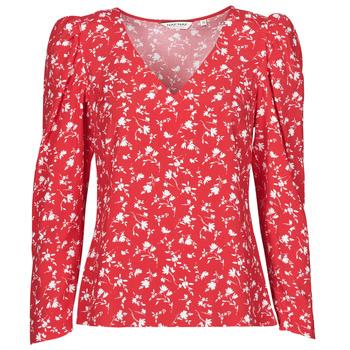 Abbigliamento Donna Top / Blusa Naf Naf COLINE C1 Rosso