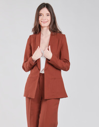 Abbigliamento Donna Giacche / Blazer Naf Naf LINONOU V2 Terracotta