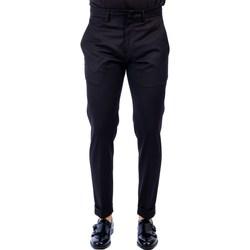 Abbigliamento Uomo Pantaloni 5 tasche Golden Craft 1957 485/ROXI D001 BLACK Pantalone Uomo Uomo Nero Nero