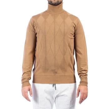 Abbigliamento Uomo Maglioni Moreno Martinelli 580484A 38 CAM Maglia Uomo Uomo Cammello Cammello