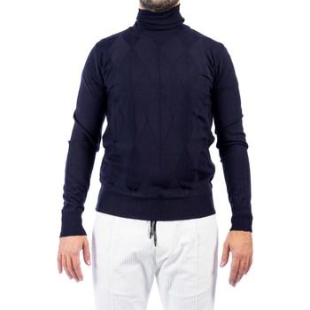 Abbigliamento Uomo Maglioni Moreno Martinelli 580484A 03 BLU Maglia Uomo Uomo Blu Blu