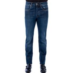 Abbigliamento Uomo Jeans slim Siviglia 22M3 S405 6001 Jeans Uomo Uomo Blu Blu
