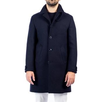 Abbigliamento Uomo Cappotti Barbati BRYAN 220862 02 BLU Cappotto Uomo Uomo Blu Blu