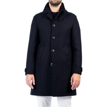 Abbigliamento Uomo Cappotti Barbati BRYAN 220862 01 NER Cappotto Uomo Uomo Nero Nero