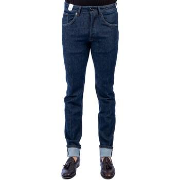 Abbigliamento Uomo Jeans slim Michael Coal DAVID 11157W433L Jeans Uomo Uomo Blu Scuro Blu Scuro