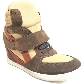 Scarpe Donna Sneakers alte Kioss ATRMPN-22658 Marrone
