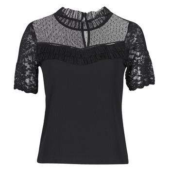 Abbigliamento Donna T-shirt maniche corte Morgan DANY Nero