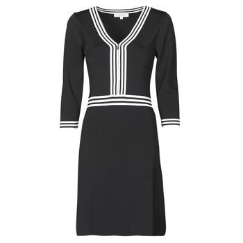 Abbigliamento Donna Abiti corti Morgan RMFATA Nero / Bianco