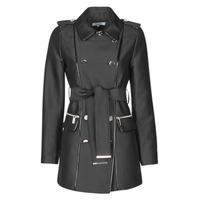 Abbigliamento Donna Trench Morgan GAZELLE Nero