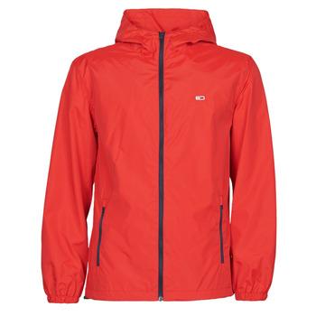 Abbigliamento Uomo giacca a vento Tommy Jeans TJM PACKABLE WINDBREAKER Rosso