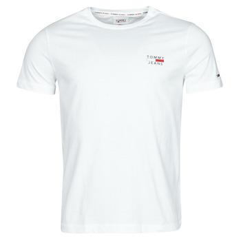 Abbigliamento Uomo T-shirt maniche corte Tommy Jeans TJM CHEST LOGO TEE Bianco