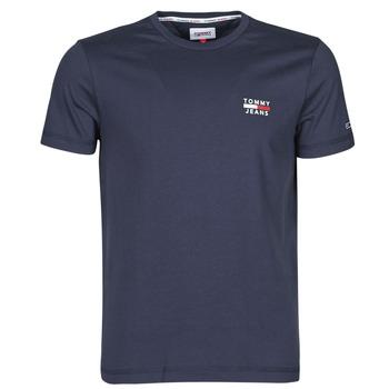 Abbigliamento Uomo T-shirt maniche corte Tommy Jeans TJM CHEST LOGO TEE Marine