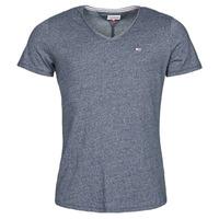 Abbigliamento Uomo T-shirt maniche corte Tommy Jeans TJM SLIM JASPE V NECK Marine