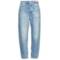 Abbigliamento Donna Jeans boyfriend Tommy Jeans MOM JEAN ULTRA HR TPRD EMF SPLBR Blu / Clair