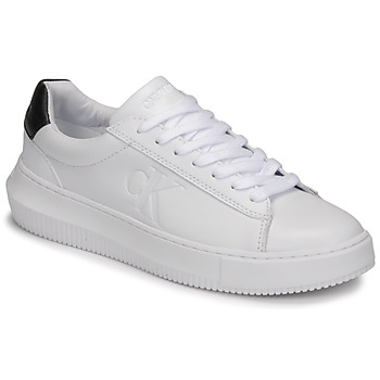 Scarpe Donna Sneakers basse Calvin Klein Jeans CHUNKY SOLE SNEAKER LACEUP LTH Bianco
