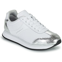 Scarpe Donna Sneakers basse Calvin Klein Jeans RUNNER LACEUP TRN-PYT PES Bianco / Argento