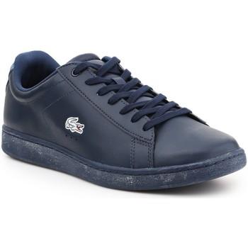 Scarpe Uomo Sneakers basse Lacoste Carnaby Evo 7-30SPM400711C granatowy