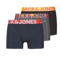 Biancheria Intima  Uomo Boxer Jack & Jones JACCRAZY X3 Nero / Blu / Grigio
