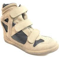 Scarpe Donna Sneakers alte Madame Pigalle ATRMPN-22665 Beige