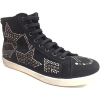 Scarpe Donna Sneakers alte Madame Pigalle ATRMPN-22668 Nero
