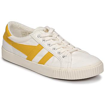 Scarpe Donna Sneakers basse Gola TENNIS MARK COX Beige / Giallo