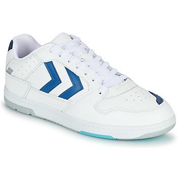 Scarpe Uomo Sneakers basse Hummel POWER PLAY Bianco / Blu