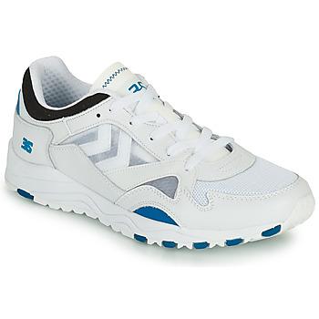 Scarpe Uomo Sneakers basse Hummel EDMONTON 3S LEATHER Blu