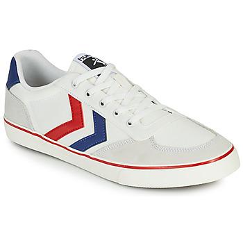Scarpe Uomo Sneakers basse Hummel STADIL LOW OGC 3.0 Bianco / Blu / Rosso