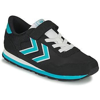 Scarpe Unisex bambino Sneakers basse Hummel REFLEX JR Nero
