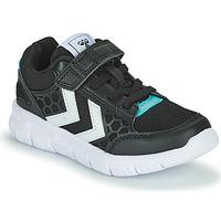 Scarpe Unisex bambino Sneakers basse Hummel CROSSLITE JR Nero