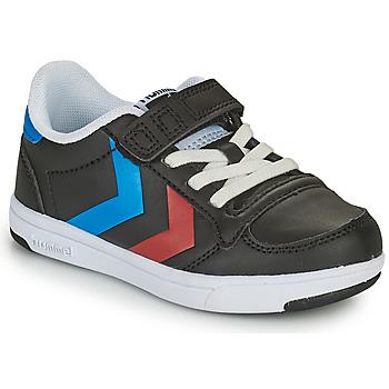Scarpe Unisex bambino Sneakers basse Hummel STADIL LIGHT QUICK JR Nero